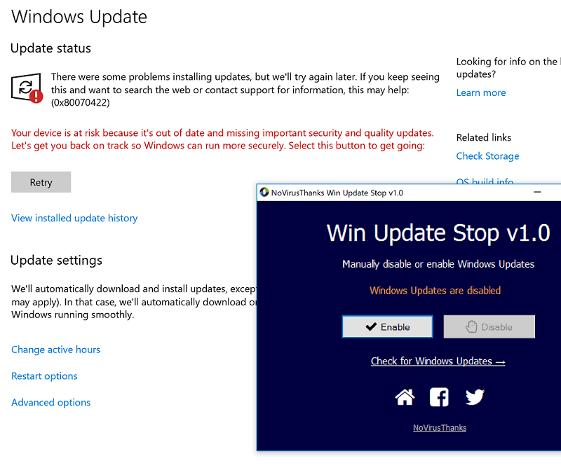 stop windows 10 update permanently