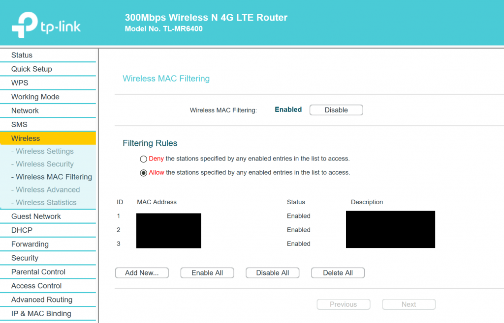 Improve TP-Link TL-MR6400 WiFi Download Speed - Query Admin